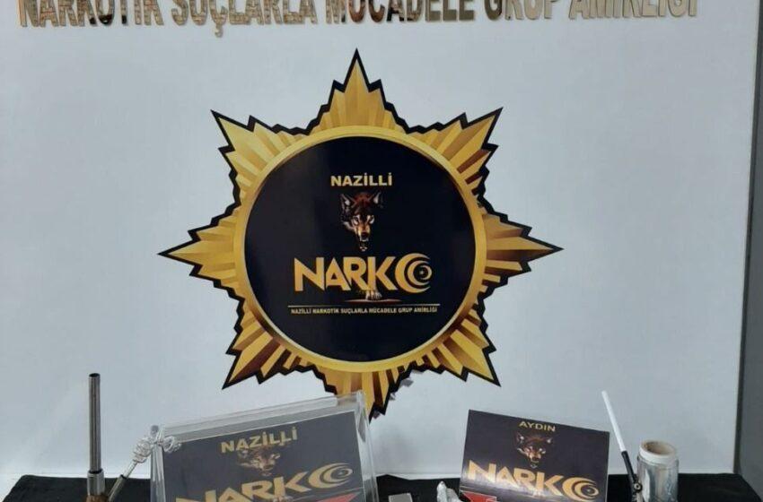 Nazilli polisi uyuşturucu satıcılarına göz açtırmıyor
